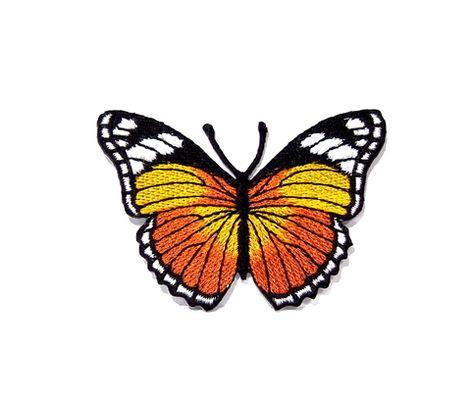 Papillon Applique Craft Applique Iron on Patch 2 95