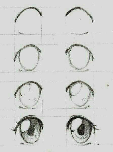Anime Glam Anime Glam Desenho De Olho Desenho De Olhos