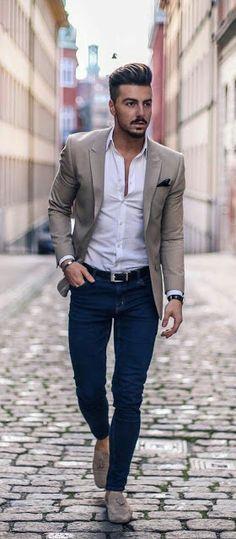 Casual formal hombre