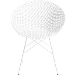 Smatrik Outdoor Sessel Sitzschale Kunststoff Fussgestell Metall