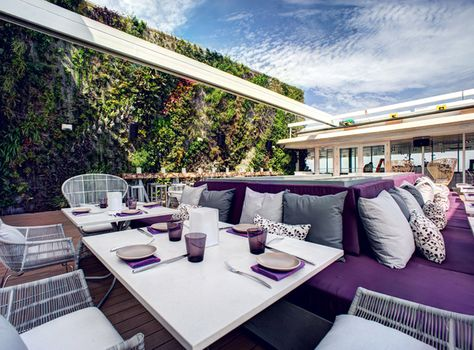 Juvia Miami By Ivan Nava Via Behance Restaurante De Lujo
