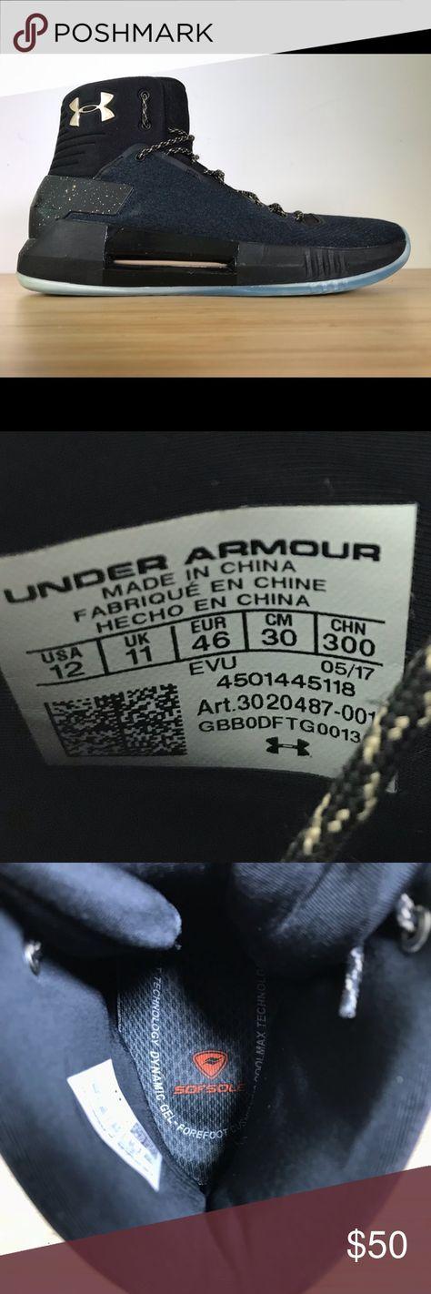 b19e798842b4 Under Armour UA Drive 4 X Mens basketball size 12 Under Armour UA Drive 4 X