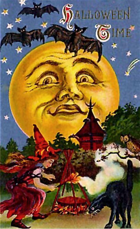 Image Result For Free Printable Vintage Halloween Postcards Vintage Halloween Cards Vintage Halloween Greeting Cards Vintage Halloween Images