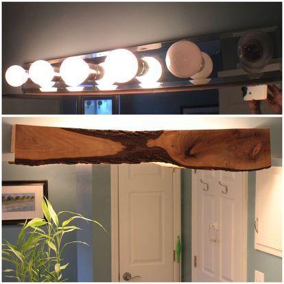 Wood Cover For Bathroom Light Bathroom Light Fixtures Bathroom