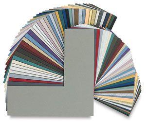 Crescent Black Core Matboard Matboard Framing Supplies Art Materials