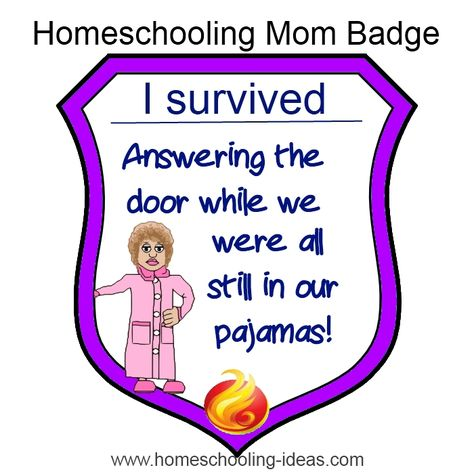 My latest #homeschool survival badge for you to collect. Can you claim this one?