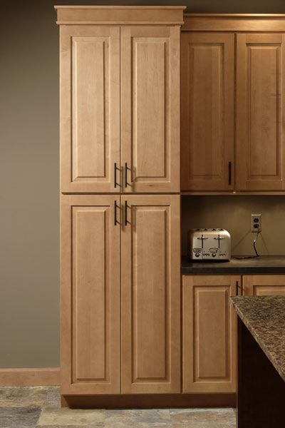 Love The Color Of These Cabinets Pantry Cabinet Tall Kitchen Pantry With Pull Out Shelves Tall Pantry Cabinet Built In Pantry Tall Kitchen Pantry Cabinet