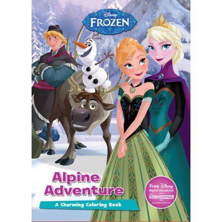 12 8 15 Walmart Com Alpine Adventure Disney Frozen Coloring Books