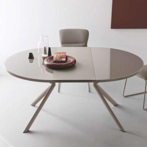 Table Ronde Extensible En Ceramique Giove Connubia Table