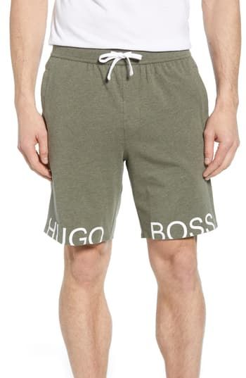 hugo boss shorts and top