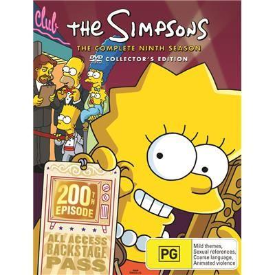 Simpsons The Season 9 4 Dvd Jb Hi Fi The Simpsons The Simpsons Movie Simpson