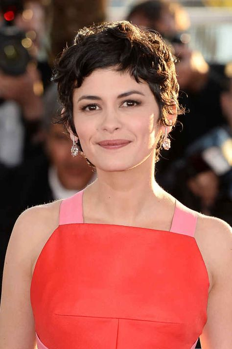 Audrey Tautou at the 2013 Palme D'Or winners photocall in Cannes.