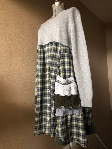 e0fce39bd36 List of Pinterest oversize shirt refashion sweaters images ...