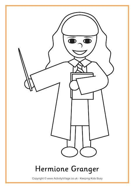 Hermione Granger Coloring Pages Harry Potter Coloring Pages Harry Potter Wands Diy Super Coloring Pages