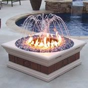 Philharmonic Fire Pit Fountain Outdoor Fire Fire Pit Backyard Fire Pit Furniture