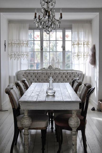 Esstisch, Esszimmer, Räume Räume, Bauernhaus Tabellen, Wohn Esszimmer,  Französisch Bauernhaus, Wohnung, Bemalte Möbel, Oma