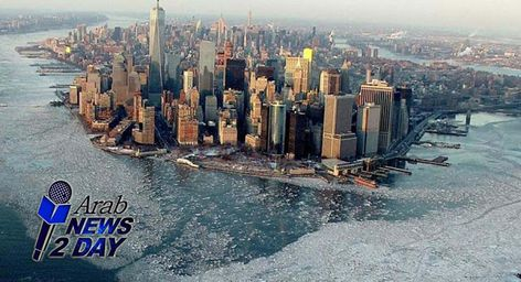 درجة الحرارة فى نيويورك Arabnews2day New York Skyline Skyline Arab News