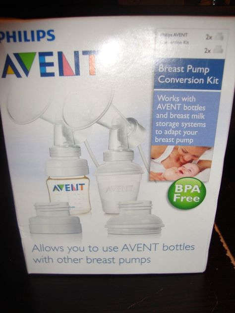 NEW Philips AVENT BPA Free Standard Breast Pump Conversion Kit  #PhilipsAVENT