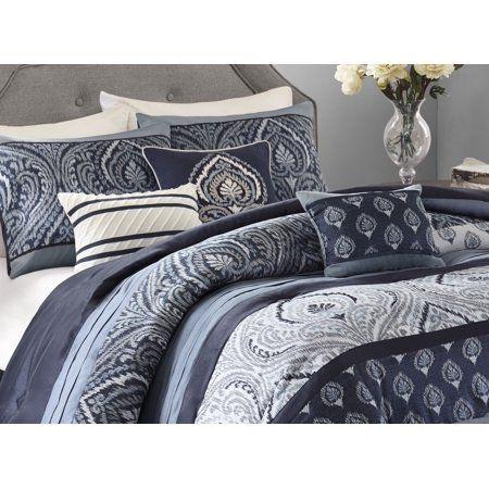0ebd8437e10fd58ae3705f718b467fec - Better Homes And Gardens Indigo Paisley Comforter Set