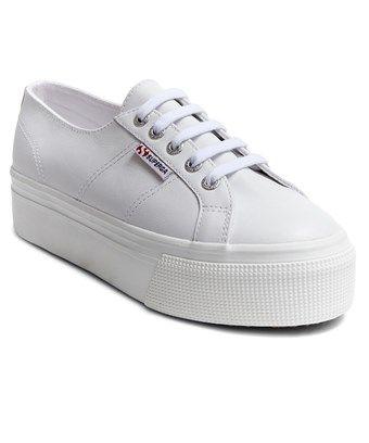 Superga 2790 Leather Platform Sneaker