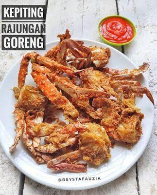 Kepiting Rajungan Goreng Resep Kepiting Resep Makanan Resep Seafood