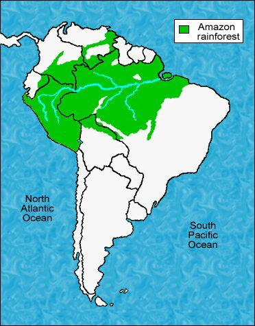Physical map of south america very detailed showing the amazon physical map of south america very detailed showing the amazon rainforest the andes mountains the pampas grasslands and the coa gumiabroncs Gallery