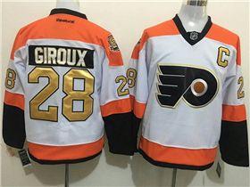 timeless design 04074 68957 Philadelphia Flyers #28 Claude Giroux 3rd White Jersey w ...