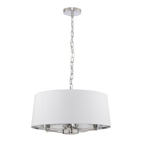 Reba 3 Light Drum Chandelier | Drum chandelier, Chandelier