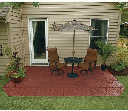 rubber paver rubber patio pavers