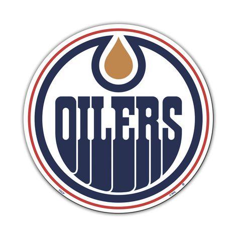 Edmonton Oilers Vinyl Mascot Magnet