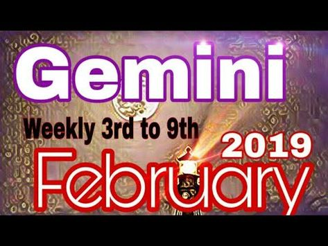 GEMINI Feb2019 ADJUSTMENTS TO CHANGE BETTER TIMES WITH MONEY