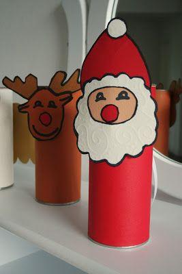 Adventsbasteln Weihnachtliches Mobile Aus Recycling