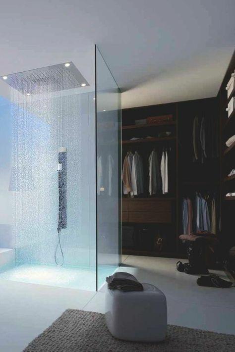 La salle de bain avec douche italienne 53 photos! | Salle de ...