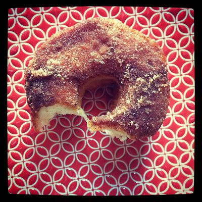 what i made for monday-naughty donuts