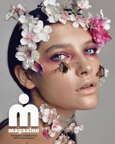52 Ideas For Flowers In Hair Photoshoot Photo Shoot hair