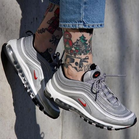 new style ee334 9bac9 Sneakers women - Nike Air Max 97 OG Silver bullet (©nnohopexnoharm)