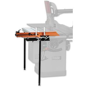Axminster Trade St1400 Sliding Table For At254ts Sliding Table Table Saw Accessories Table