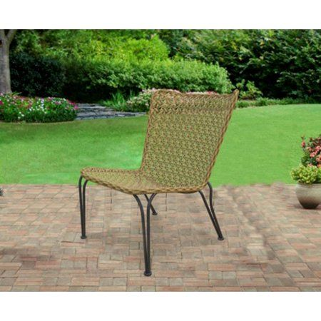 Better Homes Gardens Ambriz Stacking Wicker Chair Walmart Com