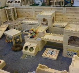 guinea pig or rabbit enclosure