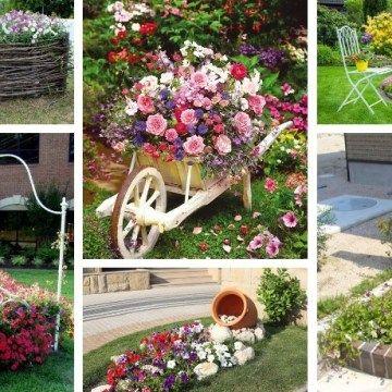 45 Affordable Diy Design Ideas For A Vegetable Garden My Desired Home Garden Ideas Cheap Flower Bed Designs Diy Garden Decor
