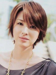 画像 吉瀬美智子のショートヘア 髪型 切り方オーダー 40代ヘア