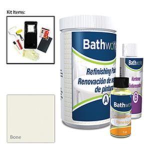 Bathworks 20 Oz Diy Bathtub Refinishing Kit Bone Bwk 03