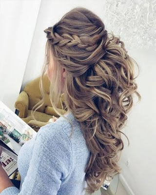 Peinados Para Fiesta De Gala Cabello Largo Prom Hairstyles For Long Hair Wedding Hair Inspiration Long Hair Wedding Styles
