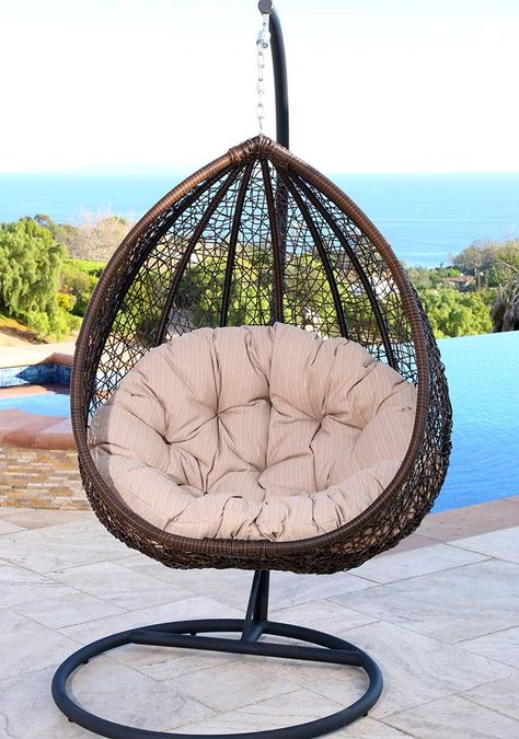 25 Fun Cocoon Swing Chairs Interior Decorating Pinterest