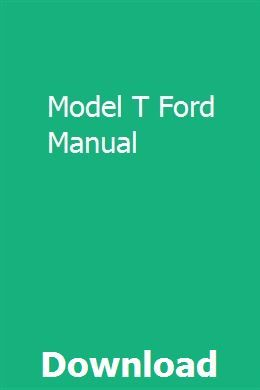 Model T Ford Manual Vw Jetta Manual Manual Car