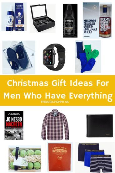 Over 20 Christmas Gift Ideas For Men Who Have Everything Diy
