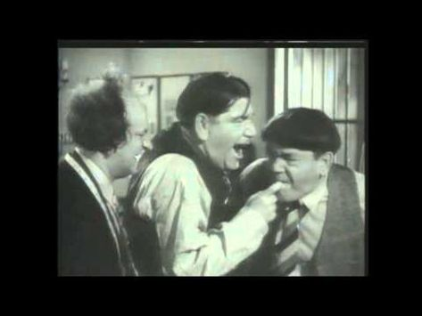The Three Stooges Slaps Eye Pokes Head Conks Nose Honks And More Youtube The Three Stooges Weird Pictures Smiles And Laughs