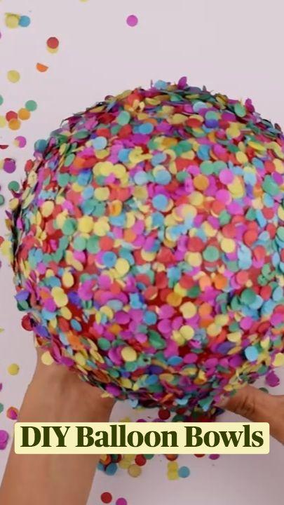DIY Balloon Bowls