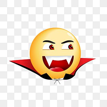 Smiling Vampire Emoji Halloween Illustration Evil Expression Face Png And Vector With Transparent Background For Free Download Halloween Illustration Halloween Vector Emoji Drawing