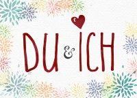 Du & Ich - Postkarte DIN A6